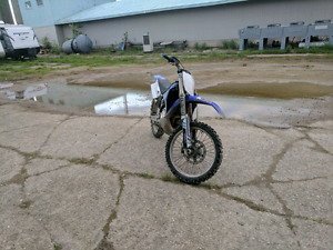 Selling my 2002 yz 250 2 stroke or trade for 450 4 stroke