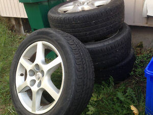 Tires and rims - Nissan Altima