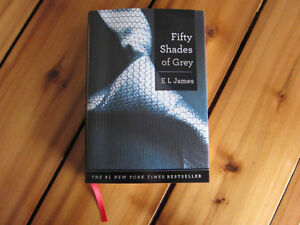 """Fifty Shades of Grey"" by E.L. James - Brand New Hardcover Book"