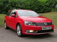 2013 63 VOLKSWAGEN PASSAT 2.0 HIGHLINE TDI BLUEMOTION TECHNOLOGY 5D 139 BHP DIES