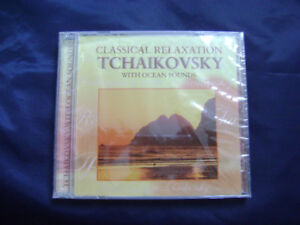 Classical relaxation Tchaikovsky with ocean sounds
