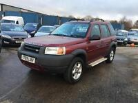 Land Rover Freelander 2.0 2000MY XEdi