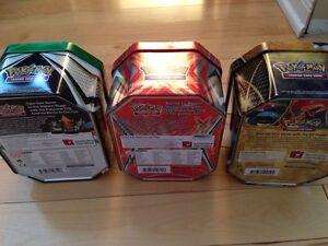 Pokemon 3 cardholders tin set Gatineau Ottawa / Gatineau Area image 5