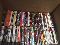 Circa 100 dvd's (house move force sale)