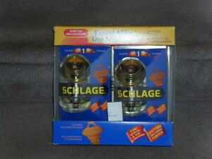 New Schlage DeadBolts Double Pack