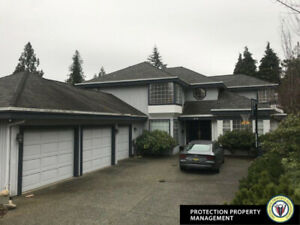 4 Bedroom House in Coquitlam!  Furnished Option Available!