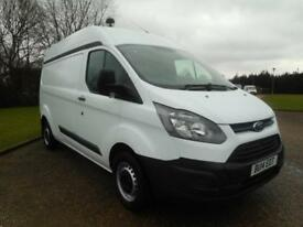 2014 FORD TRANSIT CUSTOM 2.2TDCI LWB MID ROOF L2 H2 ECO-TECH 1 OWNER FSH