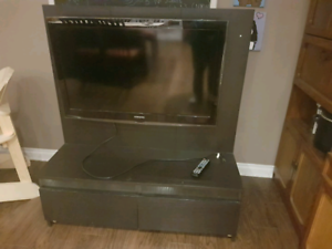 "42"" Samsung tv with stand"