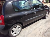 53 plate Clio 1.2 , Extreme, only 62000 miles, Service History, 12 Months Mot ,
