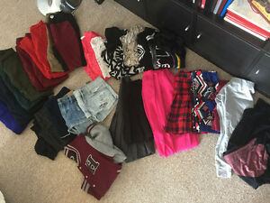 Random lot of clothing