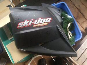 Ski doo side panel and trunk lids