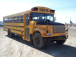 54 Pass School Bus Ready for Bus Route 1999 International