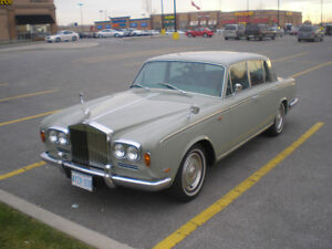 FOR SALE:  1969 ROLLS ROYCE SILVER SHADOW