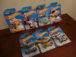 Hot Wheels Beatles,Peanuts,The Simpsons,Gas Monkey. '85 Honda