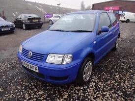 VW VOLKSWAGEN POLO 1.4 S~X'2000~3 DOOR HATCHBACK~STUNNING BLUE COLOUR