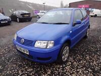 VW VOLKSWAGEN POLO 1.4 S~X'2000~3 DOOR HATCHBACK~STUNNING BLUE COLOUR