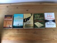 A selection of 5 John Grisham novels