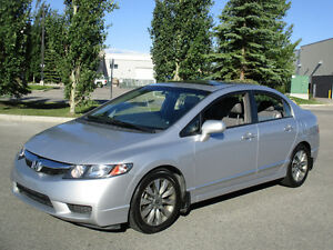 2010 Honda Civic EXL Sedan, ONE OWNER 120 KMS