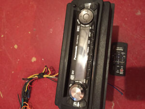 Car stereo and remote