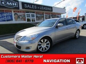 2009 Hyundai Genesis Sedan   TECH PKG, ADAPTIVE CC, COOLED SEATS