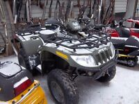 2005 ARCTIC CAT 650 V TWIN PROJECT QUAD