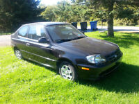 2003 Hyundai Accent GS Coupe (2 door)