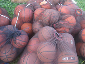 Basketballs, size 5,6,7 from former league
