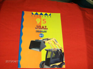 1995 JOAL COMPACT DIE CAST METAL TOYS CATALOGUE-CONSTRUCTION+