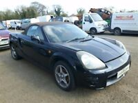 2001 TOYOTA MR2 ROADSTER 1794cc NOW BREAKING FOR PARTS