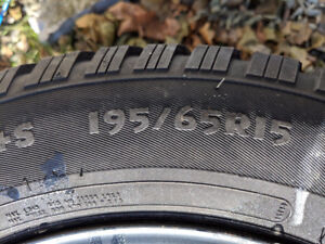 195 65R15 Arctic Claw Winter Tires on Rims - 5x100 54.1mm CB