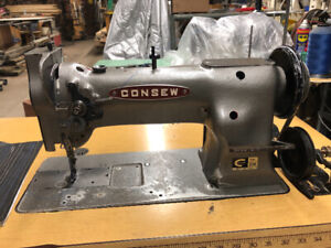 Consew 226 walking foot sewing machine industrial