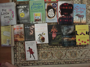 15 Books - all fiction