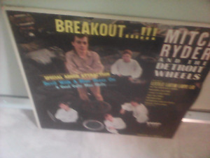 1966 rare MITCH RYDER AND THE DETROIT WHEELS LP-BREAKOUT-LOOK
