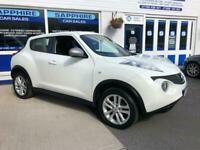 2013 63 NISSAN JUKE 1.6 ACENTA. FULL SERVICE HISTORY, 2 OWNERS, LOW MILEAGE.