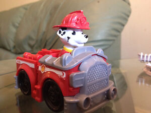 Paw Patrol Rescue Racer and Pup Badge- Marshall