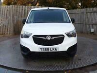 2018 Vauxhall Combo Cargo 1.6 New Shape Euro 6 **NO VAT** SWB Panel Van Diesel M