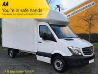 2015/ 15 Mercedes Sprinter 2.1TD 313CDI Lwb Luton Box van Tail Lift Rwd