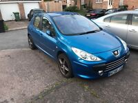 Peugeot 307 2.0 hdi GT top spec 2007 full leathers