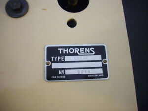 Vintage 1950's Thorens Turntable...SUPERB! Kitchener / Waterloo Kitchener Area image 7