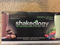 Shakeology single serve packettes