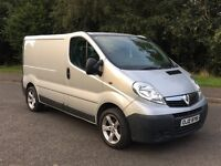 2009 VAUXHALL VIVARO NEW MODEL***FINANCE AVAILABLE***LOW MILES***SILVER METALLIC***£5495