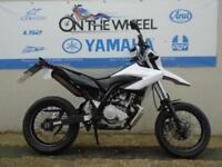 2011 YAMAHA WR 125 X WHITE, ** HPI CLEAR **