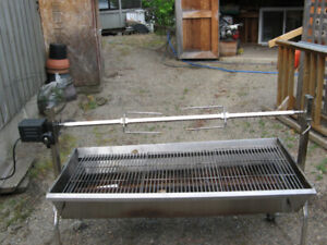 Barbecue Steenless Steel 4 Feet Wd
