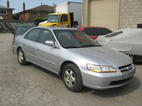 1999 Honda Accord TOP OF LINE Sedan