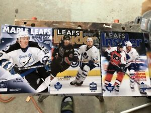 (36) Toronto MAPLE  LEAFS Programs - Including Playoffs
