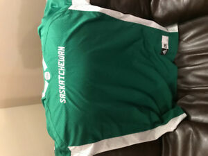 Sask Roughriders jersey