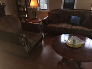 Couch Set + Coffee and end tables + more St. John's Newfoundland image 2