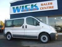 2012 Vauxhall VIVARO COMBI CDTI ECOFLEX MINIBUS *9 SEATER* Manual Crew Van