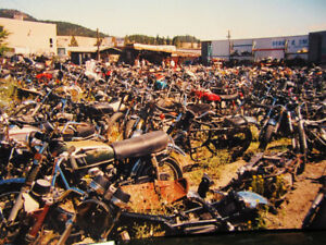 Used Vintage Japanese Motorcycle Parts Pre 1985