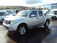 2005 NISSAN NAVARA 2.5DCI AUTO OUTLAW SILVER DIESEL PICKUP D/CAB NO VAT